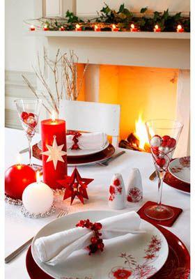 ideas de decoracion para la mesa de navidad - Buscar con Google