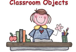 ENGLISH SPOT: Classroom Objects: PowerPoint Presentation/game