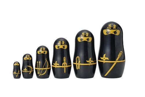 Ninja Russian Matryoshka Dolls by Matryoshka Madness, http://www.amazon.co.uk/dp/B003EED2LS/ref=cm_sw_r_pi_dp_ZGabtb150K691