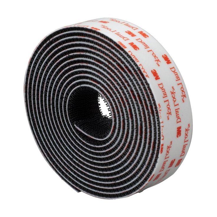 Velcro industrial Dual Lock - El Velcro Industrial Dual Lock es muy resistente pero a la vez muy fácil de separar. Para todo tipo de aplicaciones: comercio, industria, mobiliario, ...