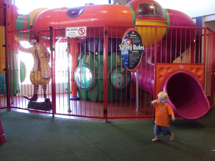 Kids area, Mc Donalds, New Plymouth, NZ