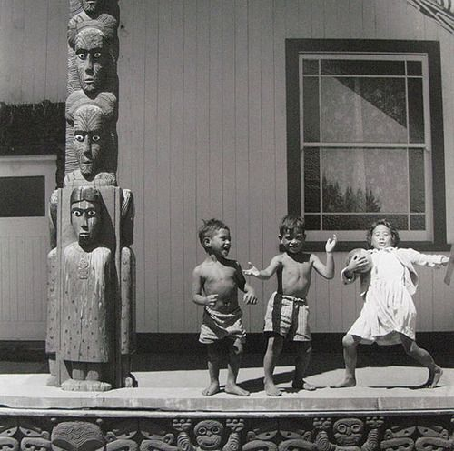 Ans Westra  Children performing, Bay of Plenty,  c.1963 [No prints available]…