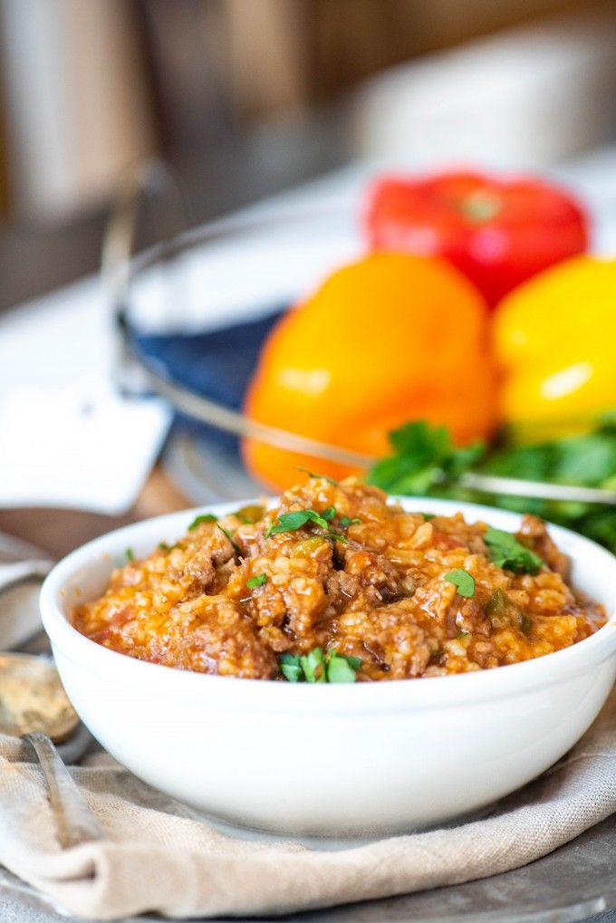 Even Better Than The Skinny Taste Or Allrecipes Recipes This Easy Instant Pot Stuffed Pepper So Instant Pot Dinner Recipes Stuffed Pepper Soup Stuffed Peppers