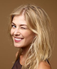"""DIE ANOTHER DAY -  Bond Babe. Rosamund Pike as """"Ice Queen"""" Miranda Frost."""