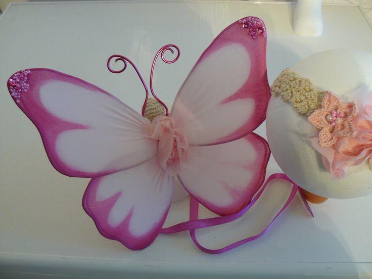 Ali di farfalla per neonato - props per foto : Moda bebè di bicolino