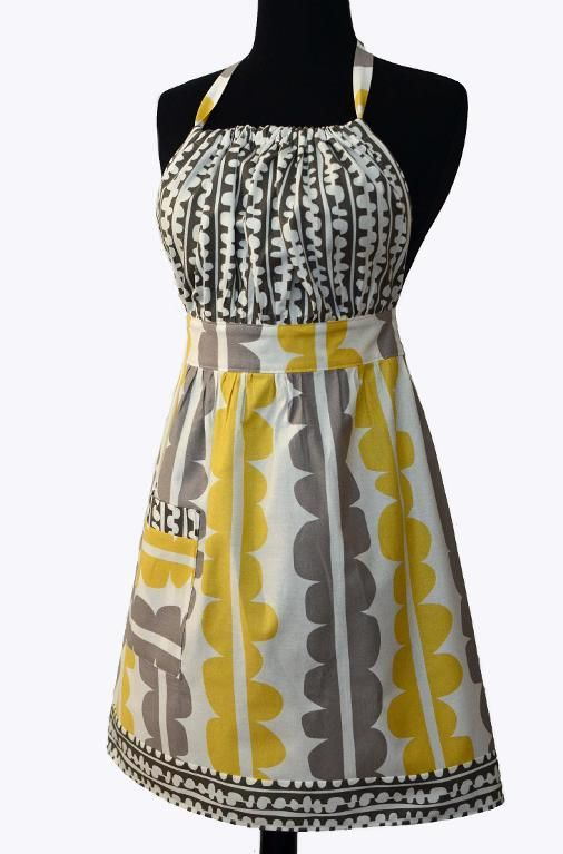 Urban Chic Apron Pattern @Doug Krugman Krugman-Nita Carter - I want this one!!!! And hint, hint...I'm the only one who never got one for their birthday!