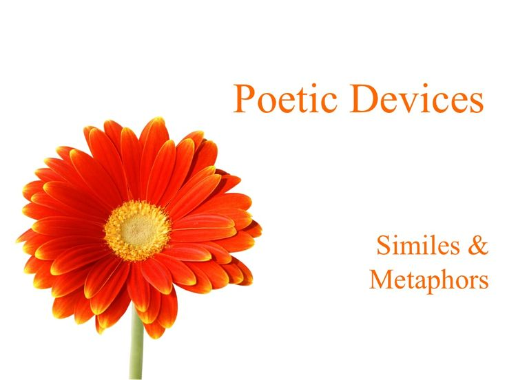 introduction-to-similes-and-metaphors by PinkPeppercorn via Slideshare