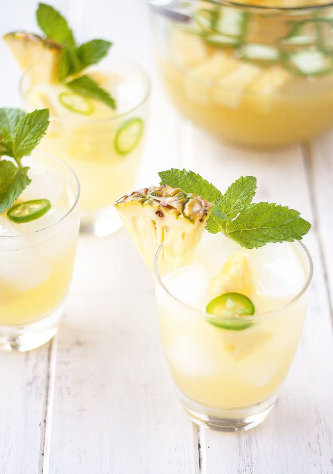PINEAPPLE JALAPENO SANGRIA RECIPE