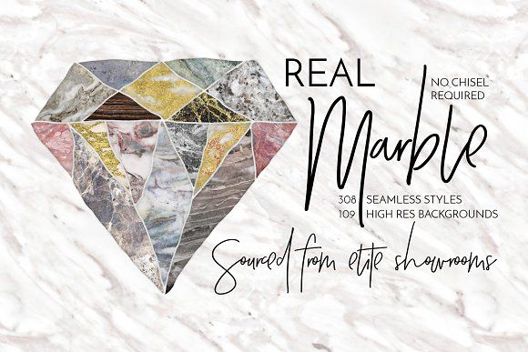 Real Marble Backgrounds & Styles by Alaina Jensen on @creativemarket