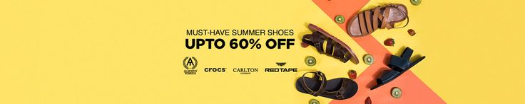 When you don't have a clue, why not shop for some good shoes? Loafers, moccasins, sneakers, flip-flops, crocs, and all other footwear styles can be purchased from the on-trend Jabong online store. Keep shopping till your shoe-drobe is full, and avail of an amazing discount up to 60% on footwear.