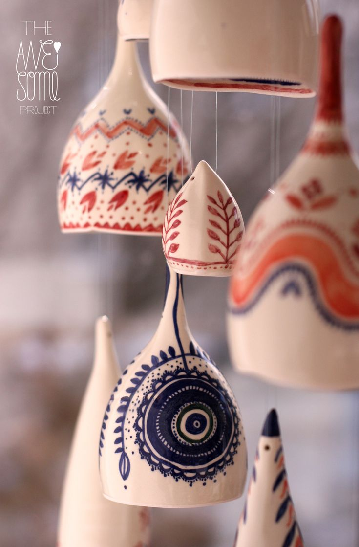 porcelain, underglaze colours, stoneware glazes-the wonderful works of The Awesome Project!