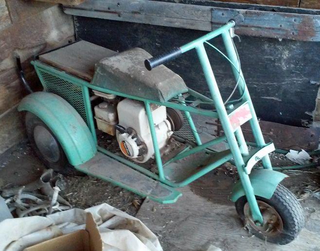 Www Usscootermuseum Com Gote 060 Jpg Minibike