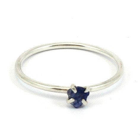 Pretty Birds Creations - Blue Sapphire Ring