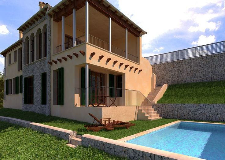 An awesome Virtual Reality pic! #galilea #mallorca #baleares #vray #infografías #arquitectura #3d #3dmax #virtualreality #evolution by 3drender_josebravo check us out: http://bit.ly/1KyLetq