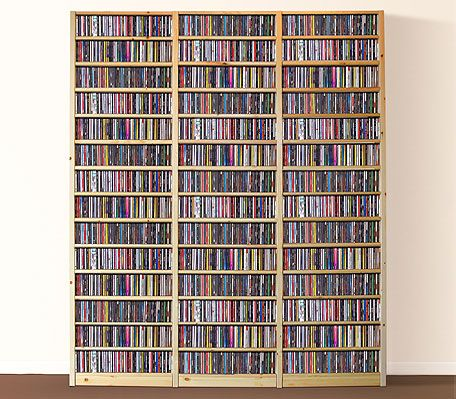 Shelfstore provides a practical solution to housing your entire CD collection