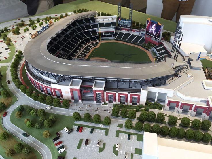 New models for SunTrust Park Atlanta Braves New Park 2017
