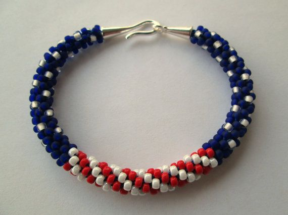Patriotic Beaded Jewelry Patterns Of 141 Best Bead Patriotic Images On Pinterest Bead Jewelry