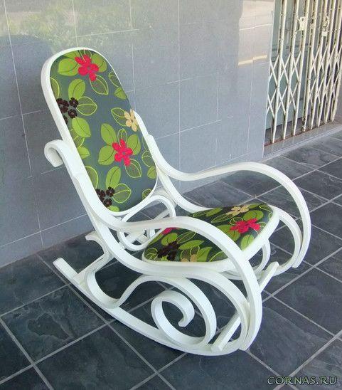 Фото: современные кресла качалки, а так же красивые дизайнерские варианты