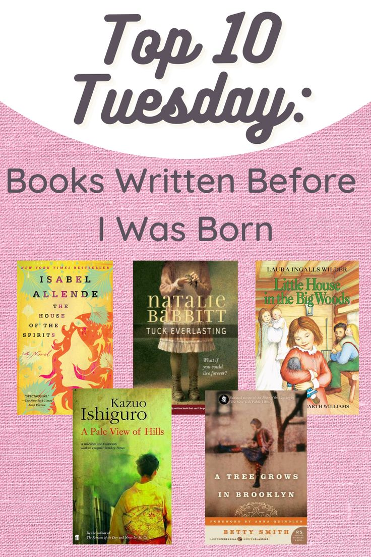 Hey hey Tuesday! This is my very first Tuesday taking part in Top Ten Tuesday, a weekly blog prompt that a lot of my fellow book bloggers take on. It's hosted by That Artsy Reader Girl. Today's prompt is books written before I was born. Oh gosh, before 1987? Let's see if I can do this 😂. It can be books I've read, or books I want to read. Here goes! #booklist #top10 #topten #amreading #tbrlist #bookblog
