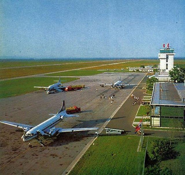 Zagreb 1968 Pleso Aerodrom Zagreb Croatia Zagreb Croatia