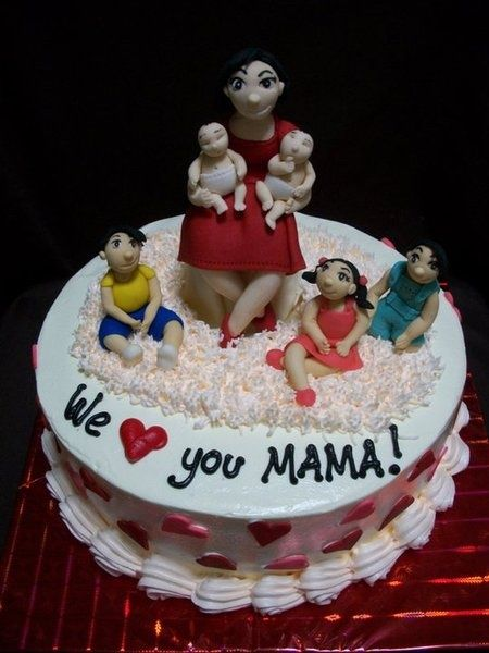 66 best Moms love xoxo images on Pinterest Mothers day cake