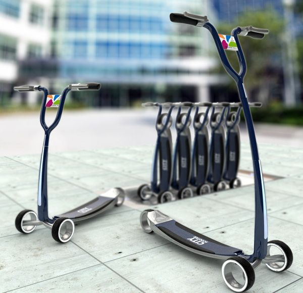 city_scooter Ein Beitrag zum Thema - was auch noch eine Chance haben könnte (Rent a Trotti)