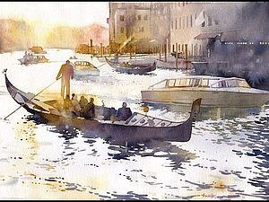 Польский художник Grzegorz Wrobel создаёт удивительно красивые, солнечные, лёгкие, как будто излучающие свет акварели. На своих картинах он изображает городские улицы и дома, зимние пейзажи, родную природу, необычные и изящные архитектурные детали, и, конечно, воду - озёра, заливы, реки, даже весенние лужицы, в которых тонко и ярко отражаются ветви деревьев и небо.