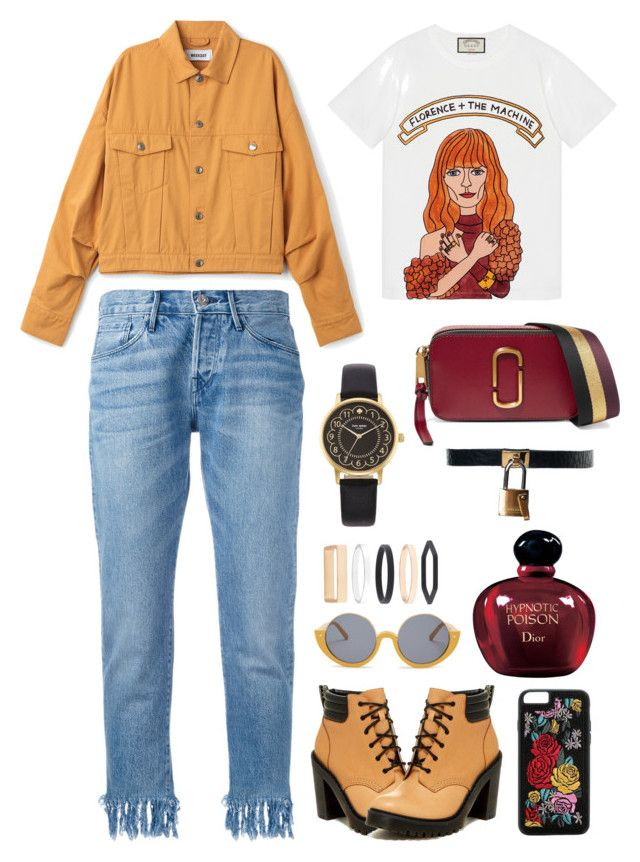 """pyo jihoon"" by armintautari on Polyvore featuring Gucci, 3x1, Dr. Martens, Marc Jacobs, Boohoo, Marni, Accessorize, Kate Spade and Christian Dior"