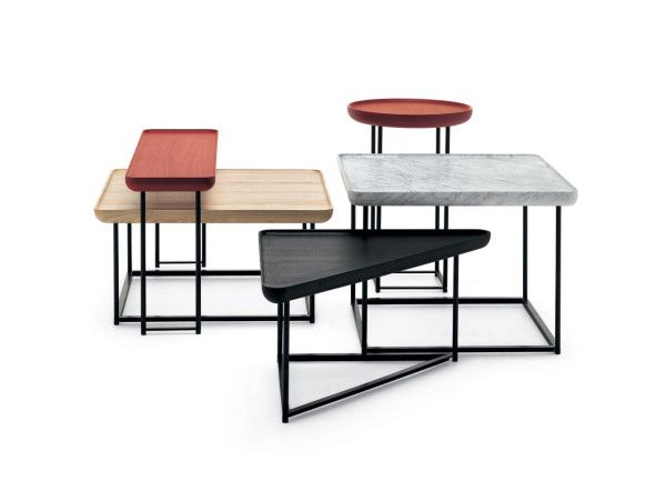 Family of Side Tables by Luca Nichetto for Cassina