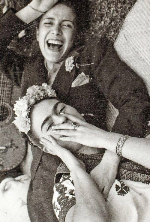 Frida Kahlo and Chavela Vargas.