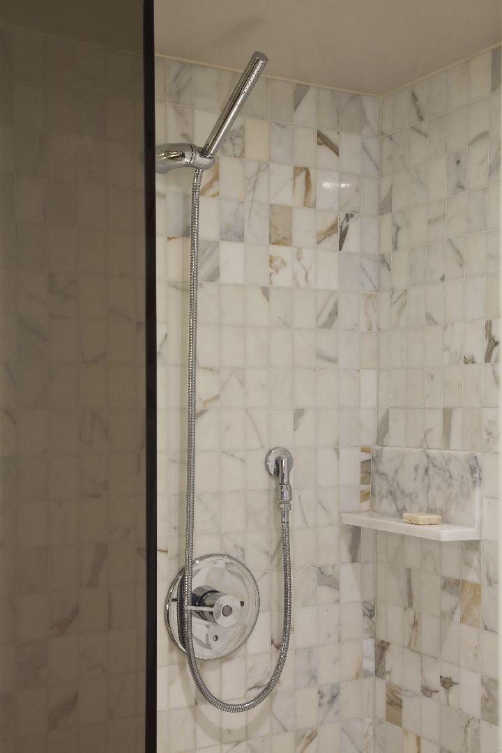 Marble Bathroom with Shower