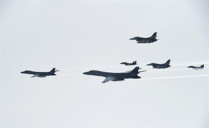 US Bombers Send Message to North Korea.  They join training mission with South Korea, Japan over Korean Peninsula