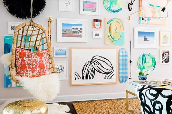 Hanging Chair & Gallery Wall Inspiration, Waiting On Martha