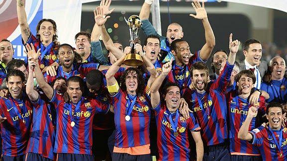Campeones del mundial de clubes, primero en su historia.
