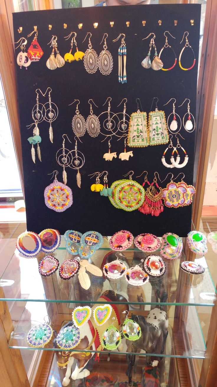 Some of the earrings we have in shop