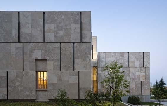 Barnes Foundation by Tod Williams and Billie Tsien in Philadelphia, USA