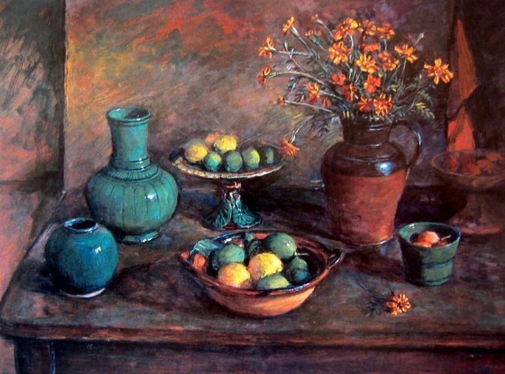 Margaret Olley | Still Life with Celadon, Lemons and Limes