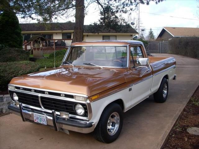 1974 Ford F100 I Miss Mine With The Quot Camper Special Quot Bed