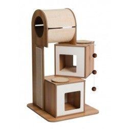 Rascador Para Gatos Vesper V-Tower Blanco