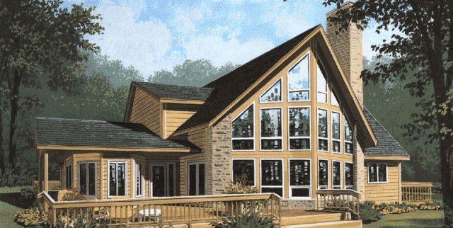 8 best prow houses images on pinterest log homes house for Prow style house plans