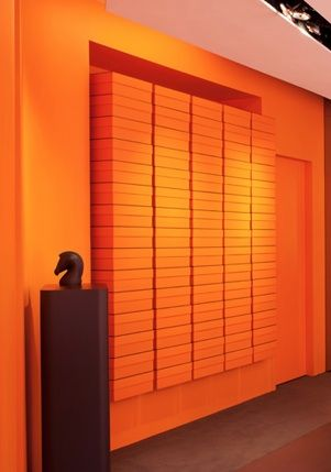 Boxed Hermes Pop-Up shop