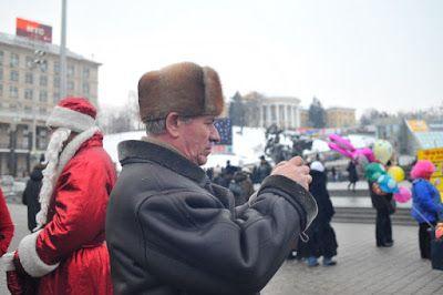 RAMÓN GRAU. Director of Photography: Felicidades Jose Haro .  Kiev 2010. Ucraina