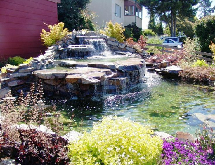 Landscaping Pictures & Ideas: Front yard Waterfeature!