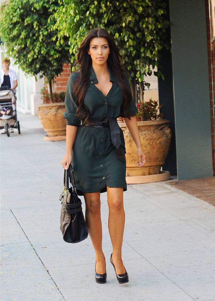 shirt dress kim kardashian
