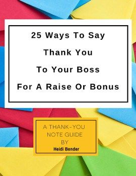 how to thank pay raise