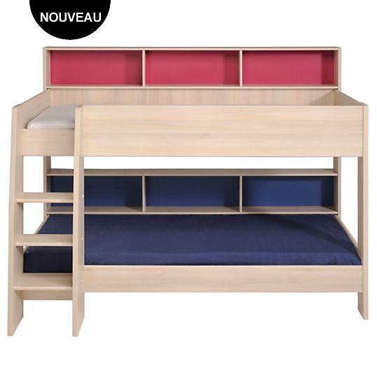 17 meilleures id es propos de lits superpos s canap sur - Lits jumeaux escamotables ...
