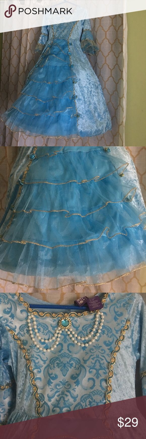 Cinderella Dress 👗 up Hoop Dress Beautifully designed, this magical dress will make your little one feel like the Belle of the Ball! Dresses Formal