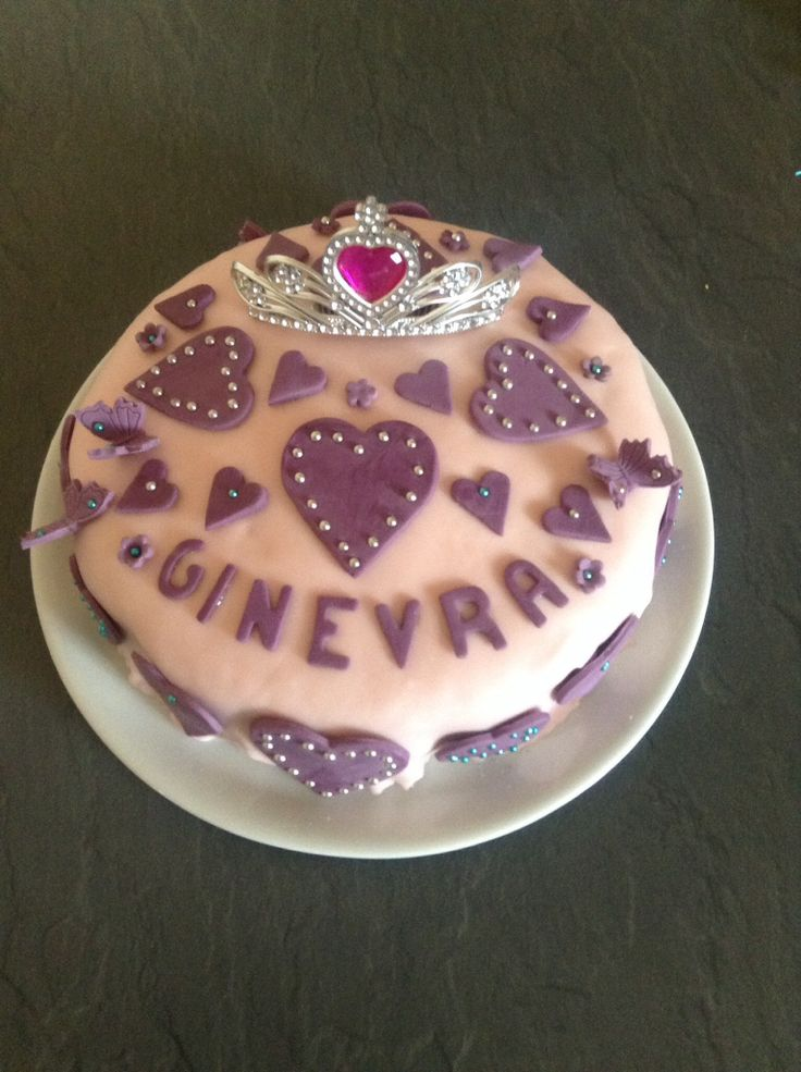 Cake for  a 3 years old princess....
