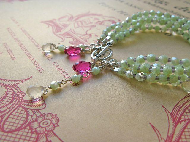 Fine van Brooklin, No Wall Flower bracelet http://finevanbrooklin.com/