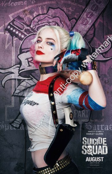 Harley Quinn Suicide Squad Poster Movie Poster 24x36